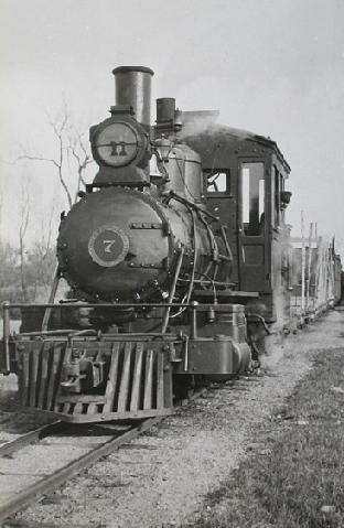 WW&F locomotive #7