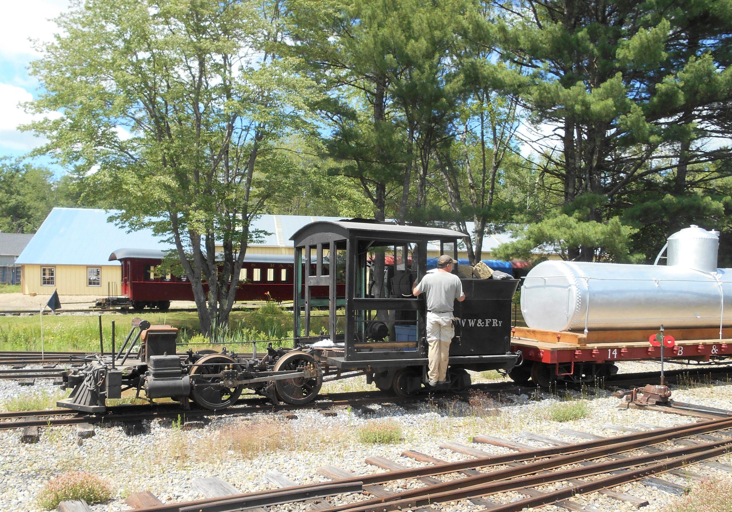 Locomotive 10 on the move
