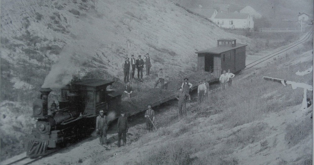 A historical image of the location the trailwork will be taking place
