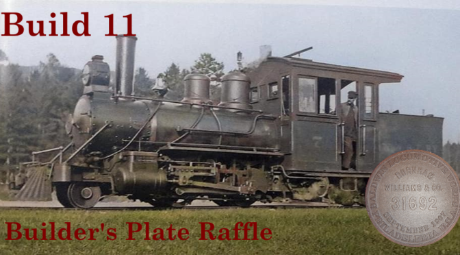 Build11 Builder's Plate Raffle