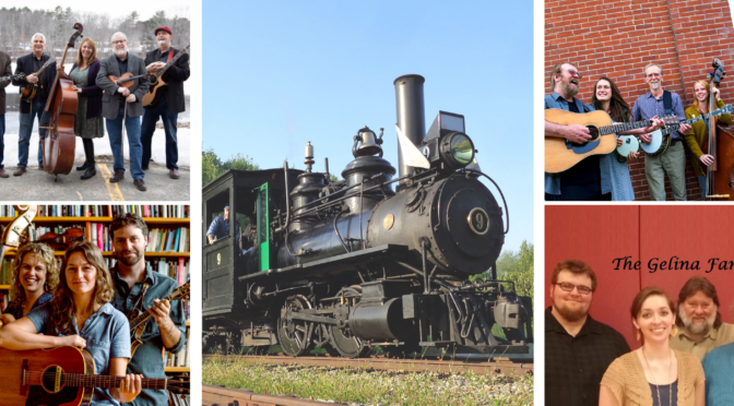 Music on the Railway: 2021 Concert Series on the WW&F